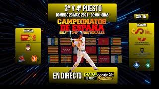 3er Y 4to PUESTO - CAMPEONATO DE ESPAÑA 2021 SELECCIONES TERRITORIALES - SUB 15