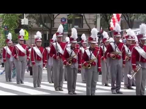 General Casimir Pulaski Polish Day Memorial Parade - Clip 1 of 3 - 5th Avenue NYC - October 04, 2015