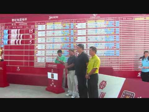 Rory Hie won the 2011 Tangshan China PGA Championship - the First Indonesian won abroad.