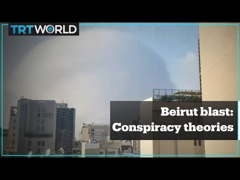 Beirut blast and social media theories