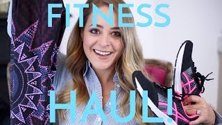 Fitness Haul & Run De Force Update! | Fleur De Force