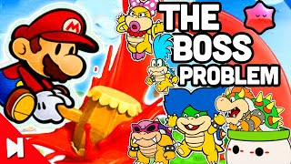 Did Color Splash's Bosses Have to Be Bad? (Paper Mario) | Boss Battle Breakdown