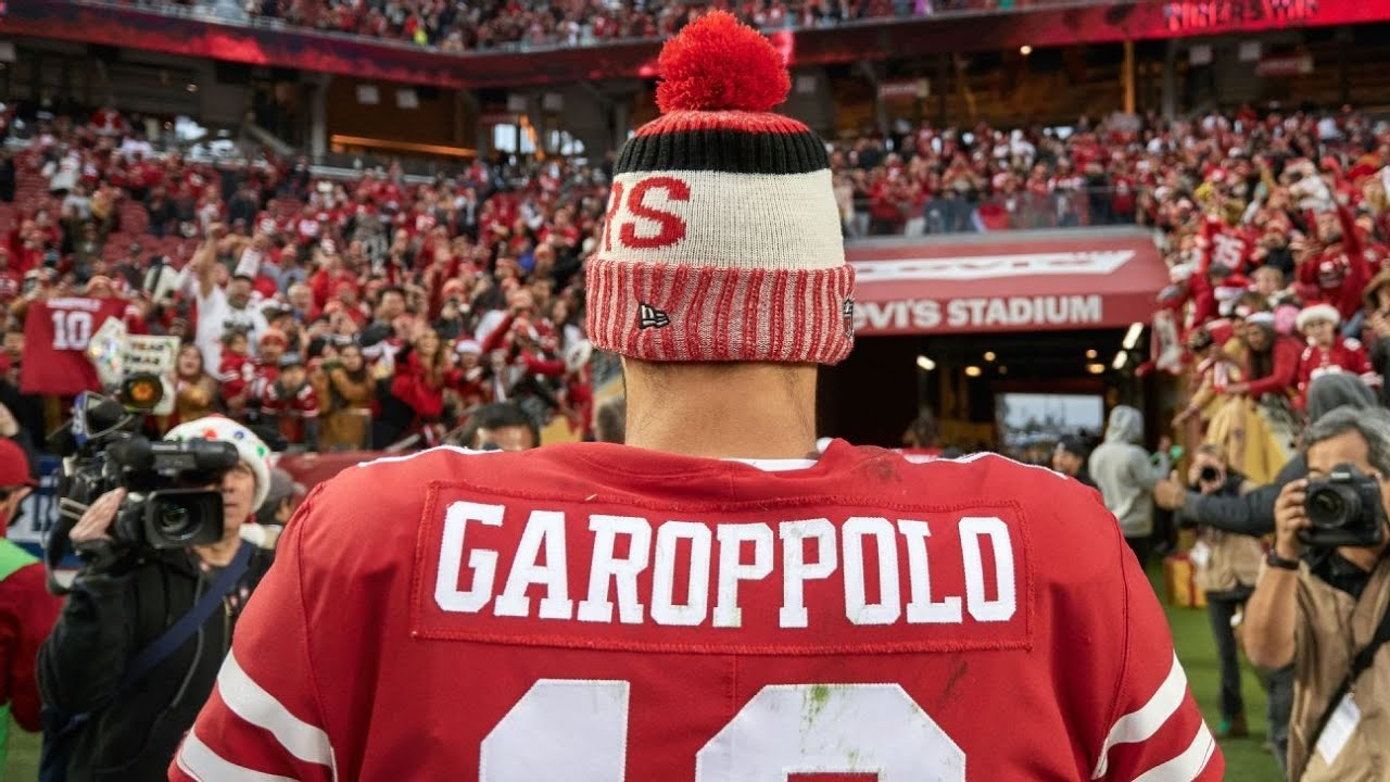 561377bfc1d Jimmy Garoppolo has changed everything for the San Francisco 49ers  including their timeline