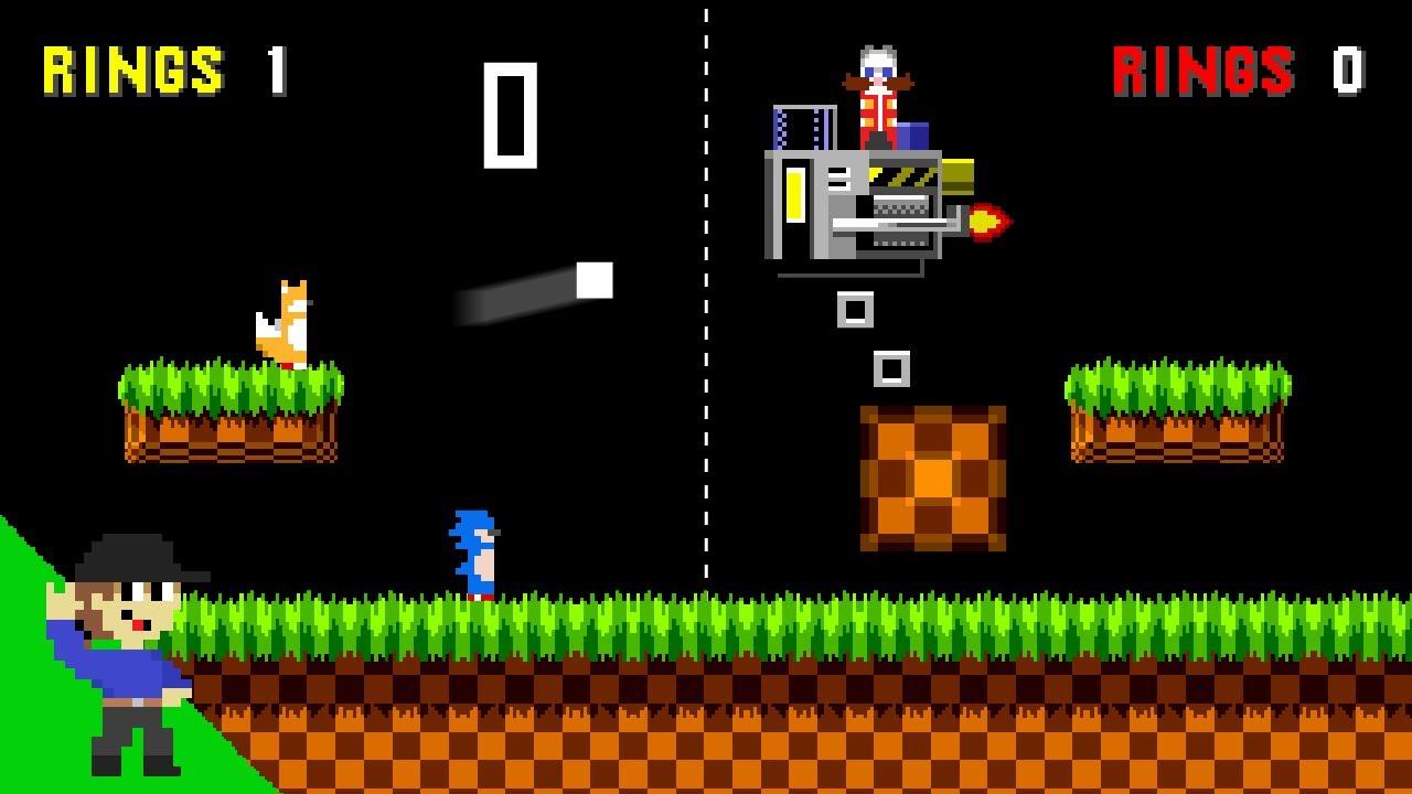 If Pong had Sonic Physics