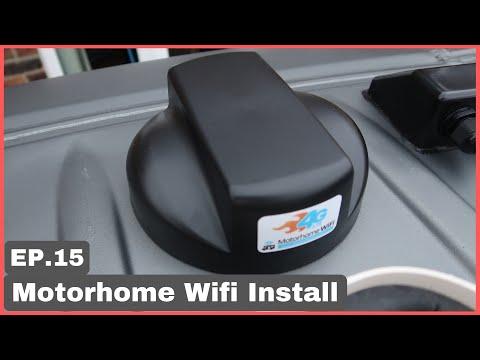 Motorhome Wifi Install   Ep15   Sprinter Conversion