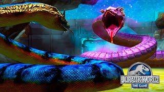 ТИТАНОБОА против УРОБОРОС 66 Jurassic World The Game