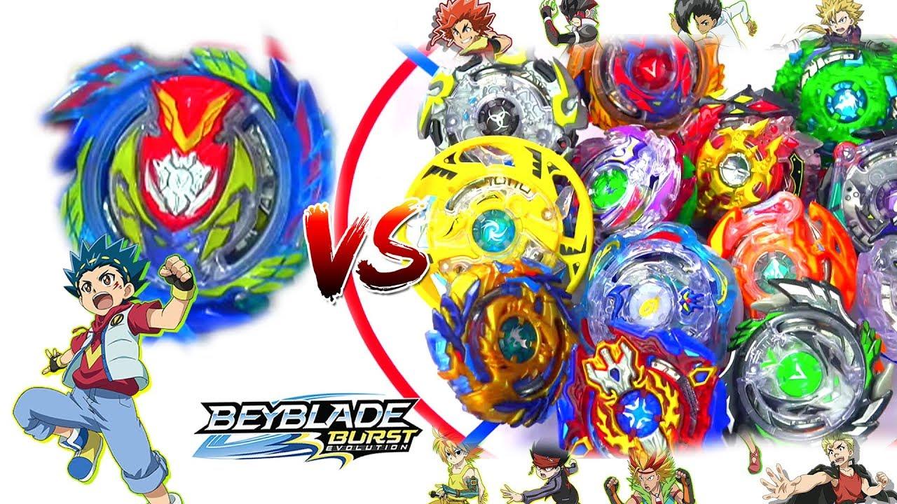 Epic Fail Strike Valtryek 6v R Vs All Switchstrike Beys Beyblade