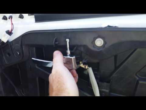 How to remove interior door handle