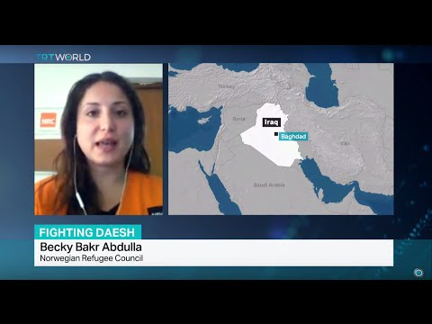 Interview with Becky Bakr Abdulla from Norwegian Refugee Council on Iraqi refugees