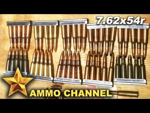 Let's talk about 7 62x54r ammo  - YouTube