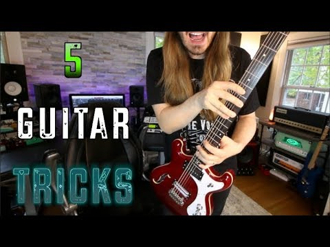 5 Guitar Tricks That Are A Real Treat!
