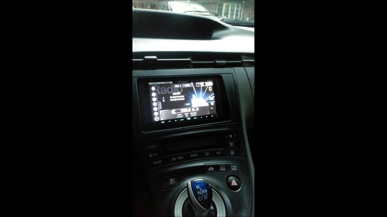 2011 Prius stereo system upgrade