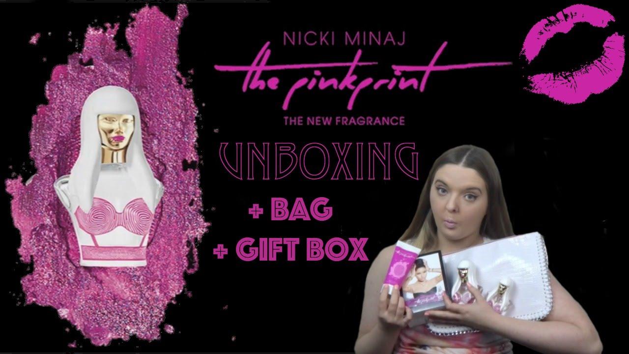 The PinkPrint Fragance Unboxing/Review + Bag + Gift Set | Nicki ...