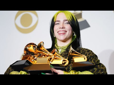 video: Grammys 2020: Billie Eilish sweeps awards as Kobe Bryant's death overshadows ceremony