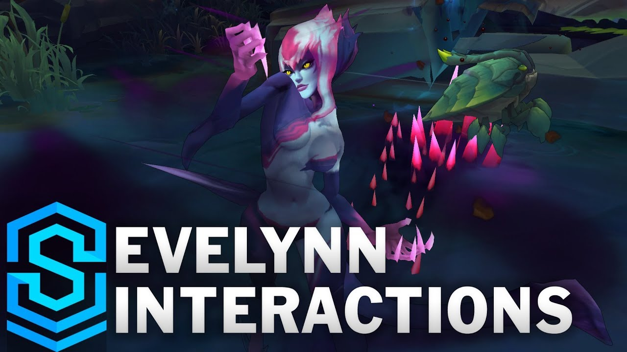 LoL Animated - Jungle Evelynn [INTERACTIVE]