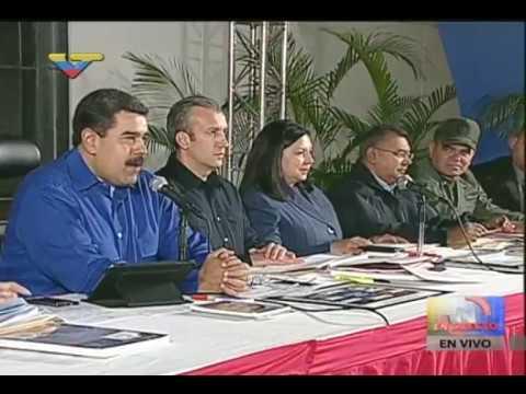 Maduro a Trump: Le quieren imponer una agresión contra Venezuela