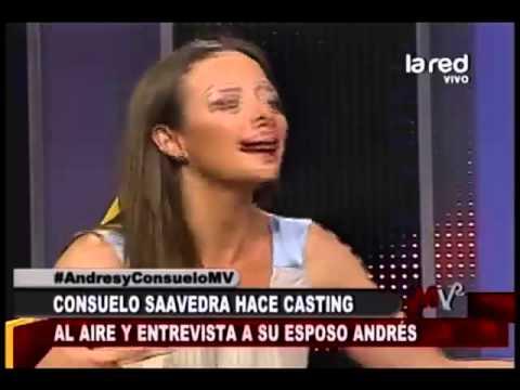 Consuelo Saavedra entrevista a su esposo Andrés Velasco