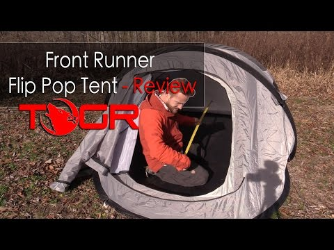 Front Runner Flip Pop Tent - Review