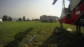 Firefighting KMAX Helicopter