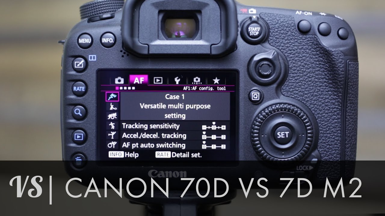 Canon 7D Mark II vs 70D Which is right for you?