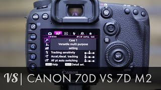 Canon 7D Mark II vs 70D Which is right for you?(I share my early opinion on the Canon 7D Mark II and outline the differences and similarities between the 70D and the new 7D Mark II. Buy the 7D Mark II from ..., 2014-11-11T02:41:06.000Z)