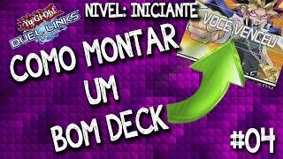 Como montar um bom deck de Yu-Gi-Oh! Duel Links no inicio do jogo. Dicas para iniciantes do jogo.