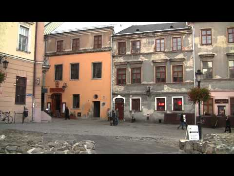 Walk in Lublin Poland HD
