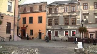 Walk in Lublin Poland HD