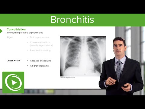 Bronchitis: Consequences, Symptoms & Treatment – Respiratory Medicine | Lecturio