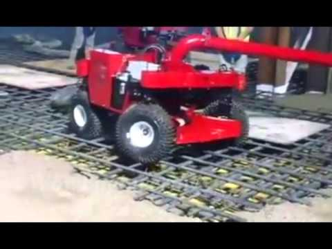 Building Slab New Concrete Pouring Machine Youtube