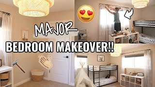 COMPLETE BEDROOM MAKEOVER!!😍 BEFORE & AFTER OF OUR ARIZONA FIXER UPPER