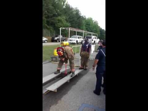 Firefighting annual fitness test