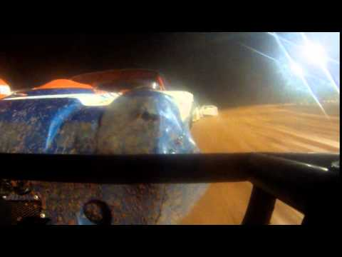 Swainsboro Raceway Turkey Race 2014 on board with Luke Scott!