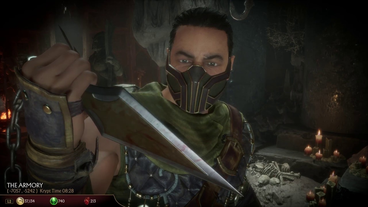 Where To Find Scorpion S Spear In Mortal Kombat 11