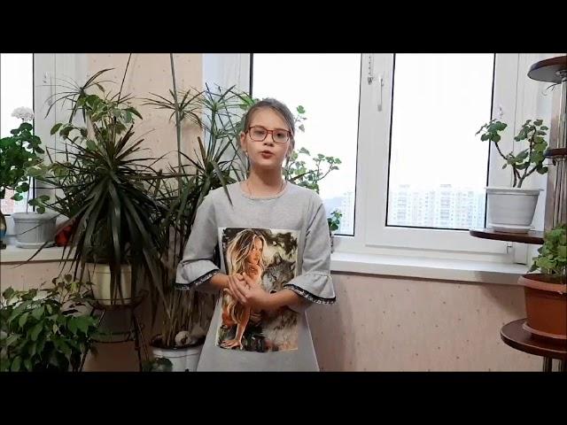 Изображение предпросмотра прочтения – ДарьяКишкина читает произведение «Поёт зима – аукает» С.А.Есенина