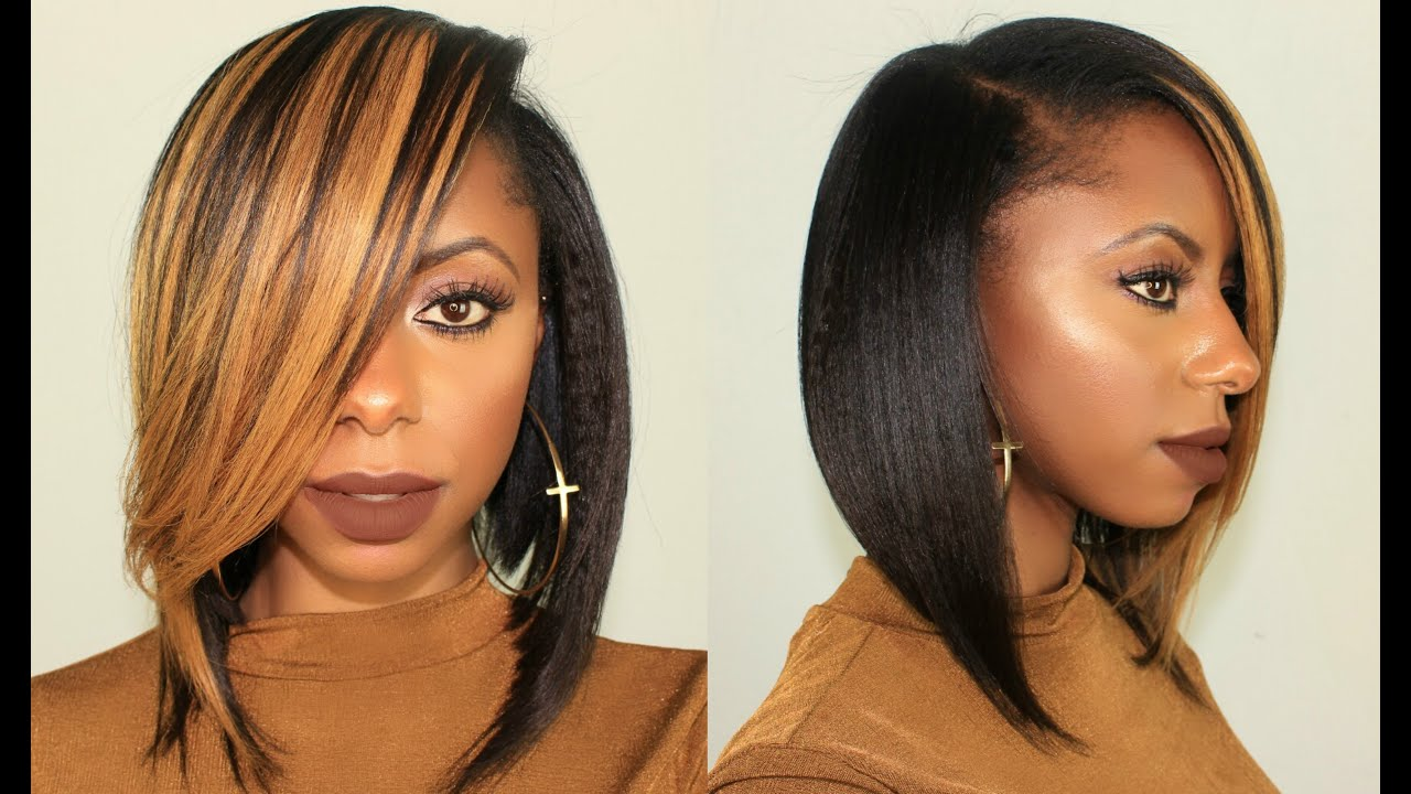 Honey Blonde Long Bob Hairstyle Ft Krshairgroup 100k Giveaway Closed Jessica Pettway