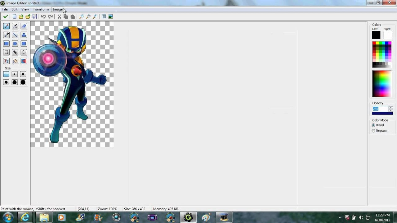 Game maker color picker - How To Change The Color Of A Picture In Game Maker 8 In Just 1 00 Minute