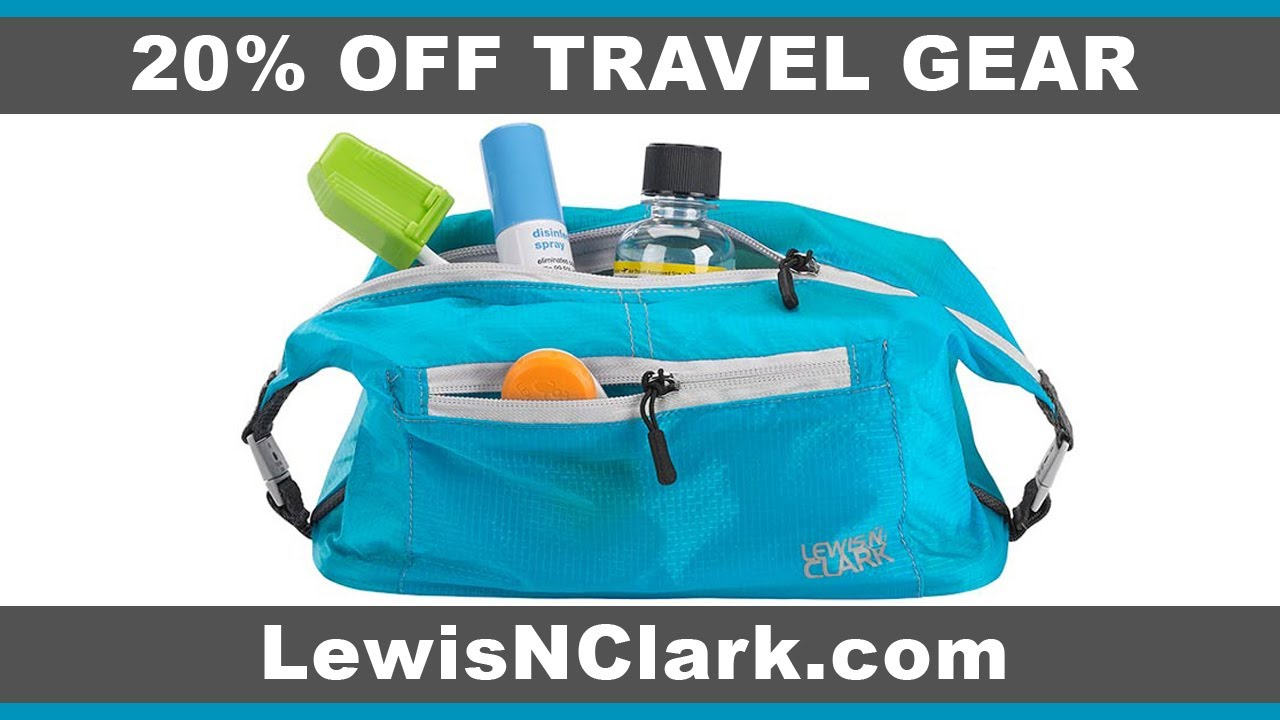 a4cdbb66898 Lewis N Clark Review - My Best Travel Toiletry Bag, Essentials + 20% OFF  SITE WIDE!