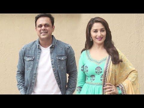 Madhuri Dixit & Sumeet Raghvan Promote Their Upcoming Marathi Movie Bucket List