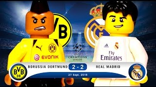 LEGO Borussia Dortmund 2 - 2 Real Madrid Champions League 2016 / 2017 Group F