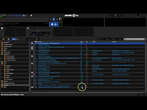 Organize Your Songs By Track # and BPM in Serato Dj