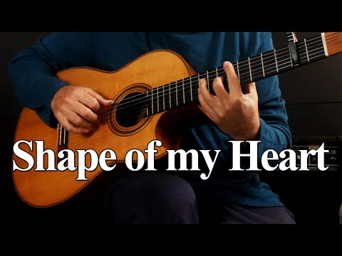 Shape Of My Heart – Sting  – fingerstyle guitar cover