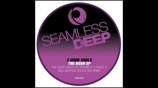 2 Good Souls  Ft. Roland Clark - Death of Technics (Martijn Ten Velden Remix)