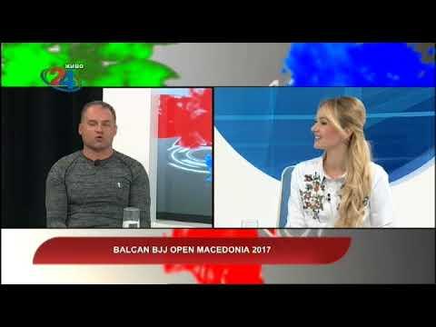 Македонија денес - Balcan BJJ Open Macedonia 2017
