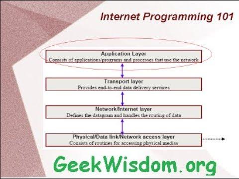 Internet Programming 101