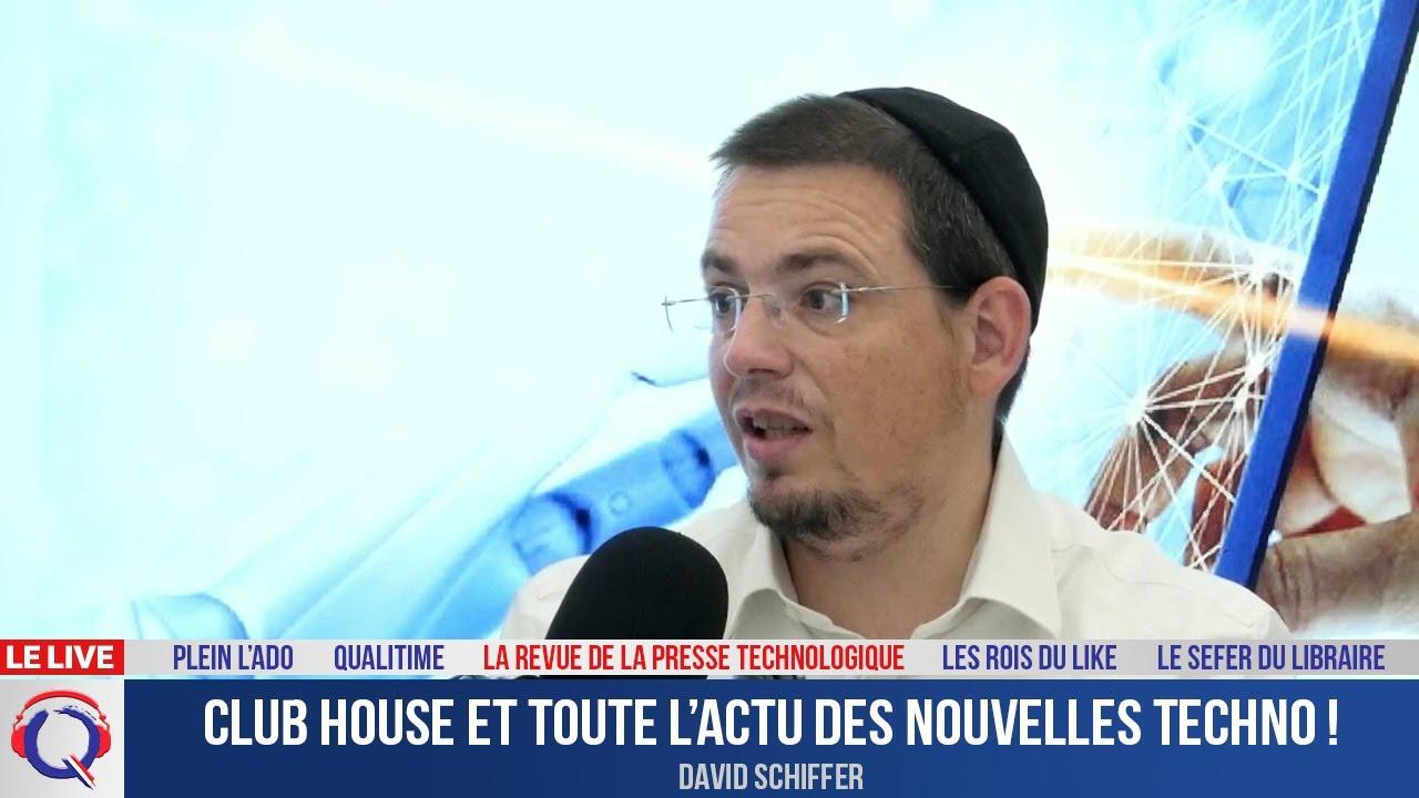 Club house et toute l'actu des nouvelles techno ! - La Revue De La Presse Technologique#1