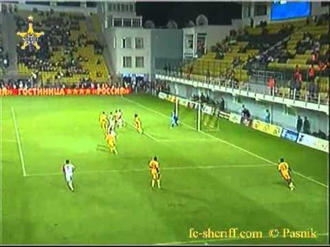 ФК Шериф - Воеводина 2-1 Лига Европы