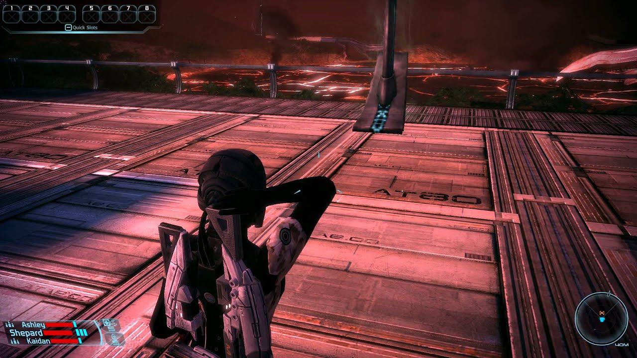 Texture Flickering in Mass Effect