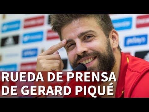Rueda de prensa completa de Gerard Piqué | Diario AS