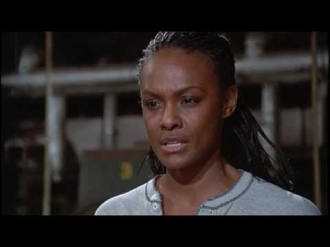 Tamara Dobson in the movie Chained Heat 1983